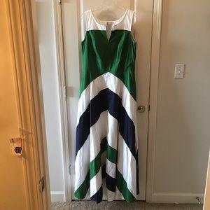 eShakti cotton maxi dress FULL SWEEP 1X 16W TALL